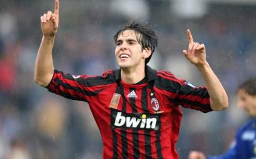 Em 2007, Kaká chegou ao auge da sua carreira com a camisa do Milan (Foto: Gettyimages)