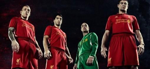O Liverpool deixou de renovar com a Adidas para fechar com a novata Warrior Sports (Foto: Divulgação)