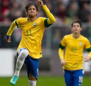 Neymar é o dono do maior passe dos convocados da Seleção (Foto: Divulgação)