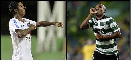 Gabriel (esq.) e Elias são os novos reforços do Fla (Edição: Caio Martins/Jornalismo FC)