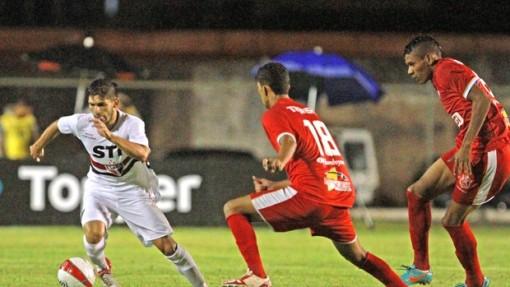 São Paulo estreou com goleada na Copinha (Foto:Célio Messias / Agência Estado)