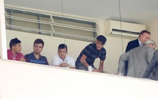 Neymar marcou presença na grande final (Foto: Marcos Ribolli)
