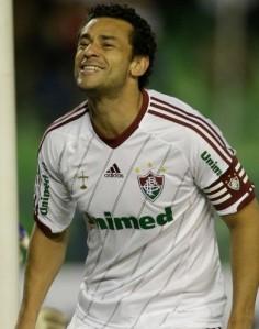 Fred continua sendo o homem-gol do Fluminense (Foto: Fernando Llano/AP)