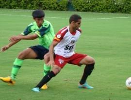 Douglas será titular na ponta direita (Foto: Divulgação/Site oficial do São Paulo FC)