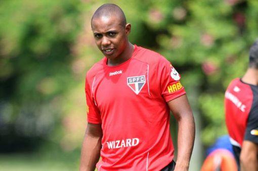 Wellington confirmou o time que enfrenta o Galo (Foto: Eduardo Viana)