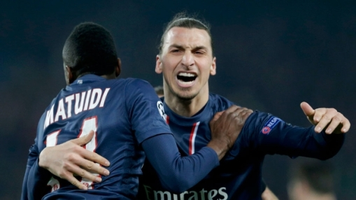Ibrahimovic gostou da atuação da sua equipe e está confiante na vaga (Foto: Reuters)