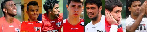 Quase um time inteiro: Juvenal Juvêncio dispensou sete jogadores após eliminação na Libertadores (Montagem: Luiz Queiroga/Jornalismo FC)