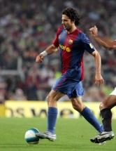 Thiago Motta foi um dos brasileiros que por mais tempo atuou pelo Barcelona, mas sempre foi coadjuvante no elenco catalão. Entre 2001 e 2007, o volante, que posteriormente se naturalizou italiano, ganhou muitos títulos como o Campeonato Espanhol de 2004/05 e 2005/06 e a UEFA Champoions League de 2005/06 (Foto: Vavel)