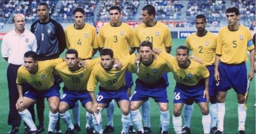 O Brasil terminou a Copa das Confederações de 2001 no quarto lugar e com três gols marcados