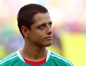 (Legenda: Chicharito marcou apenas 1 gol nesta Copa das Confederações/Foto: Getty Images)