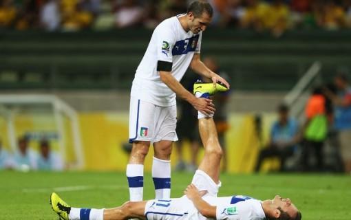Jogadores sofreram com o caloe e a umidade (Foto: Getty Images)