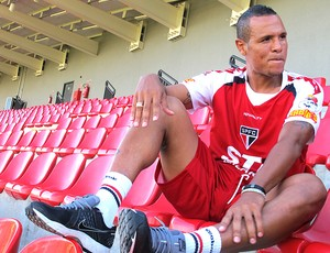 Luis Fabaiano pode ser vendido pelo São Paulo (Foto: Diogo Venturelli)