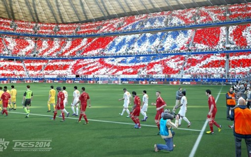"""""""PES 2014"""" deve ter 24 clubes brasileiros (Foto: Divulgação/Konami)"""