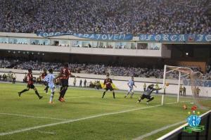Primeira partida ficou no 0 a 0, no Mangueirão (Foto: site oficial do clube)