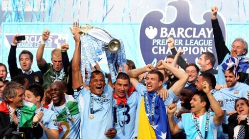 Manchester City voltou a ganhar a Premiere League após 44 anos (Foto: Getty Images)