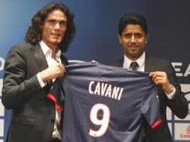 Cavani custou R$185 milhões aos cofres de seu dono (Foto: AP)