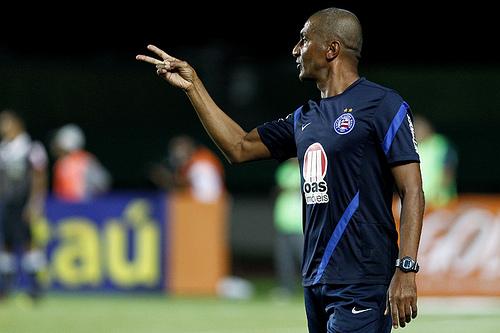 Cristovão exaltou a o triunfo diante do Flamengo ( Foto: Site oficial do clube / Divulgação)