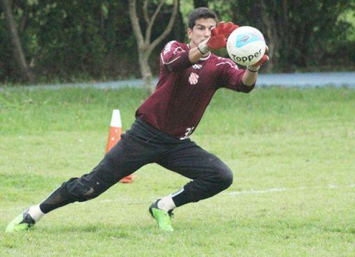 Getúlio Vargas foi o terceiro melhor goleir do Cariocão 2013 (Foto: João Carlos Gomes / Site oficial do BAC)