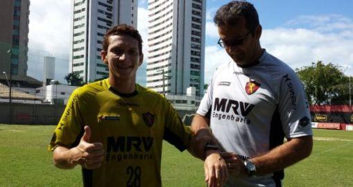 Pery é o novo reforço do Sport-PE ( Foto: Divulgação/Site oficial do clube)