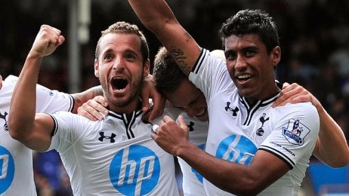 Soldado e Paulinho são as novas esperanças de gols do Tottenham (Foto: Getty images)